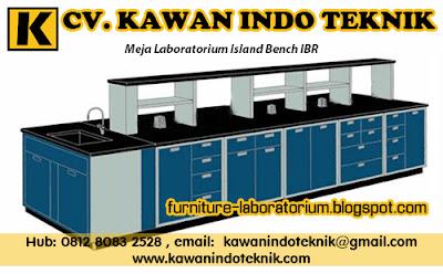 Meja Laboratorium Island Bench IBR