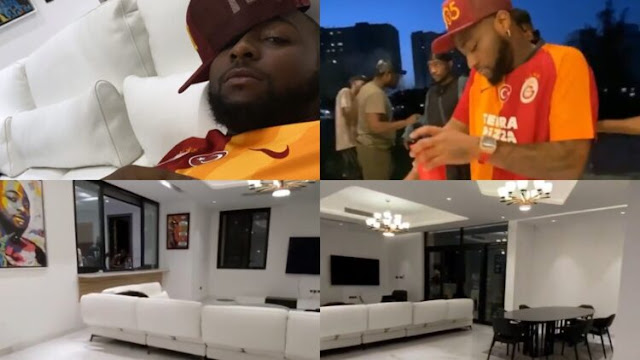 Davido completes finishing touches of his new Banana Island home