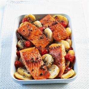 Mediterranean Salmon Recipe Delicious Recipes