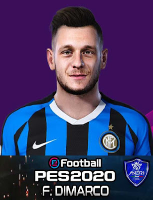 PES 2020 Federico Dimarco Face By Sofyan Andri