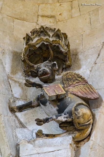Símbolo de San Lucas  - Colegiata de Santa María, Toro
