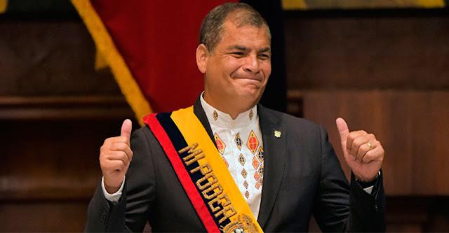 rafael correa expresidente ecuador