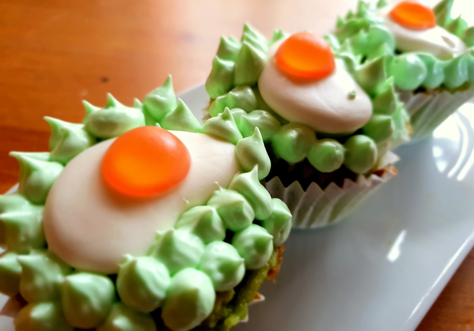 Cupcake-Osternester mit Marshmallow-Topping - Apfelbäckchen Familienblog