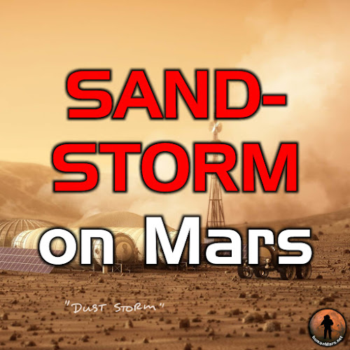 Sandstorm on Mars
