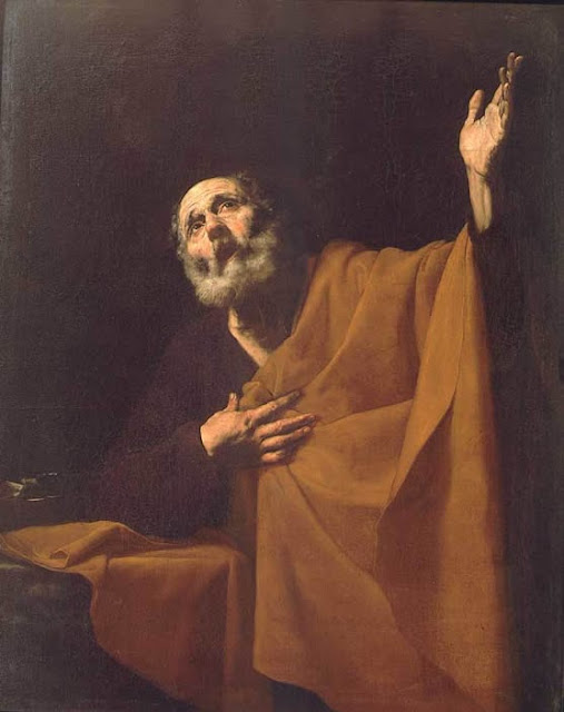 José de Ribera - San Pedro penitente - 1626-32