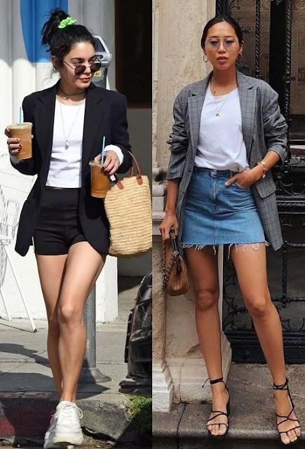 Guia de moda Como usar blazer parte 2, Vanessa Hudgens, Aimee Song