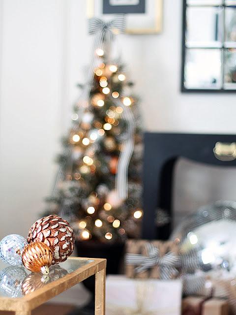 detalle decoracion navidad salas