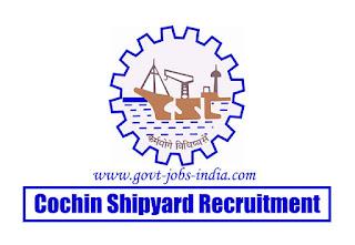 Cochin Shipyard Project Assistant Recruitment 2020