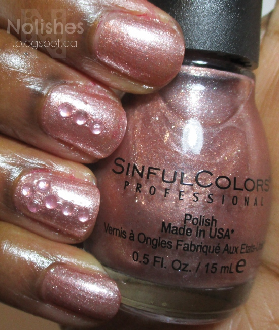 Sinful Colors 'Gold N' Roses'