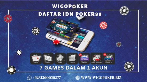 Idn Poker 88 Deposit Pulsa Terpercaya Daftar Idn Poker88