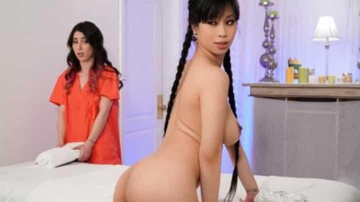 Serena Blair And Jade Kush in Closet Case - All Girl Massage