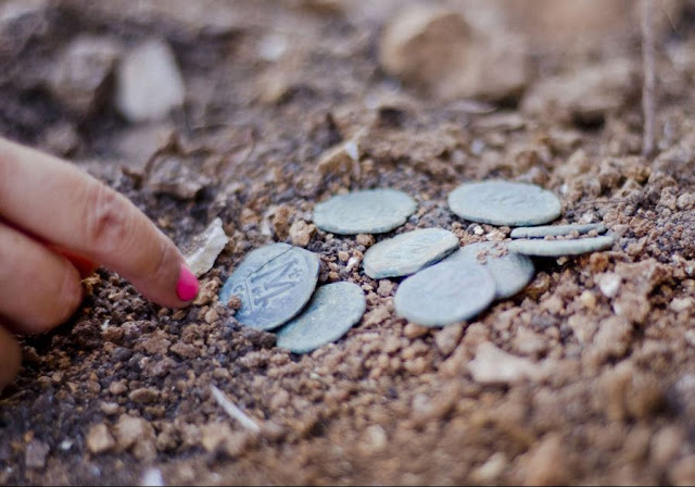 1,400 year old coin hoard discovered prior to highway expansion in Israel