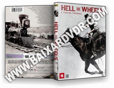 Hell on Wheels – 3ª Temporada (2013) DVD-R OFICIAL