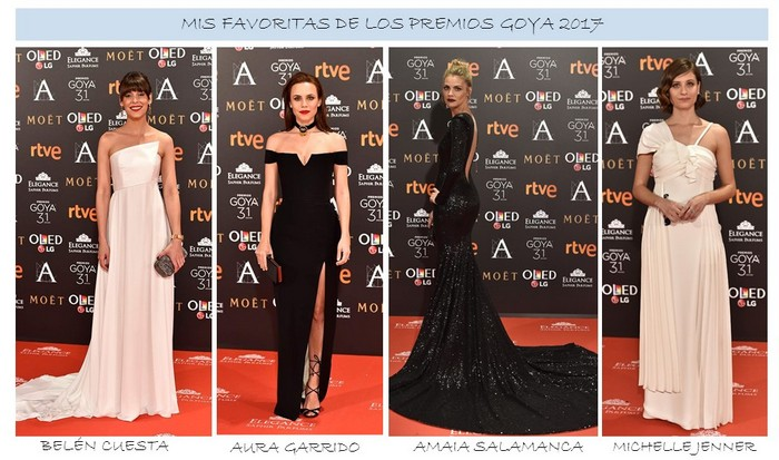 Favoritas de Premios Goya 2017