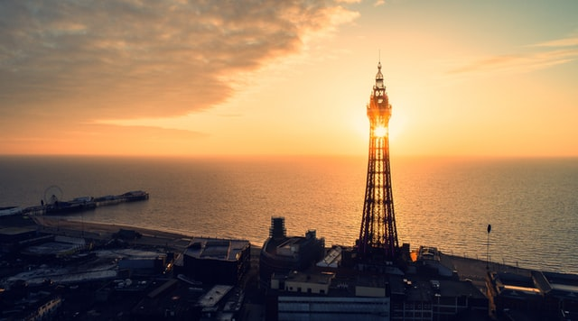 A traditional British seaside experience in Blackpool