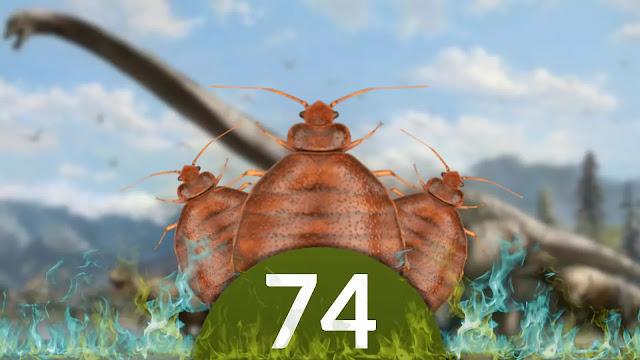 QN NEWS 74 - Percevejos existem desde a época dos Dinossauros!