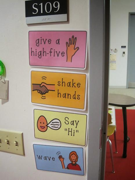 Special Education Classroom Door