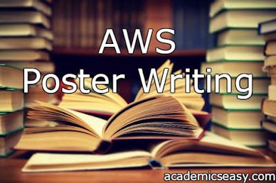 AWS: Poster Writing