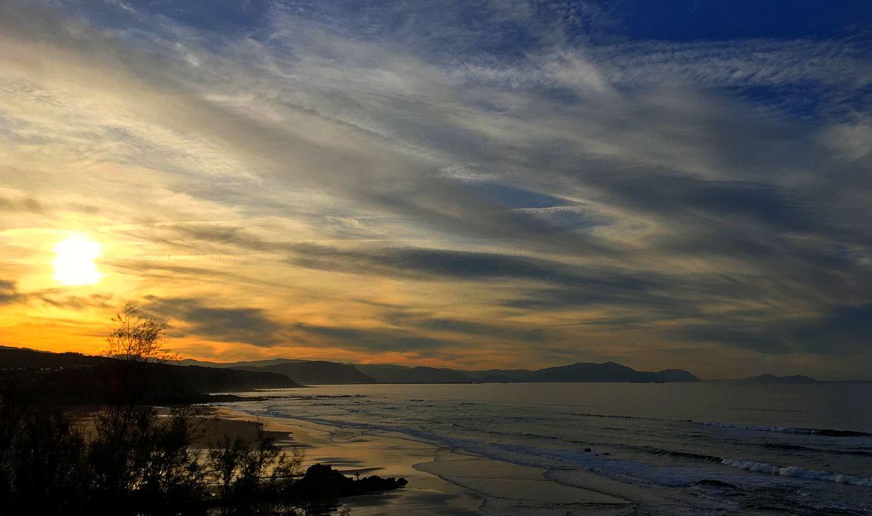 sopelana puesta sol