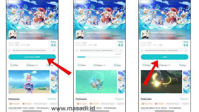 Genshin Impact TapTap