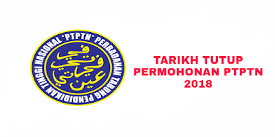 Tarikh Tutup Permohonan PTPTN 2018 Politeknik IPTA IPTS