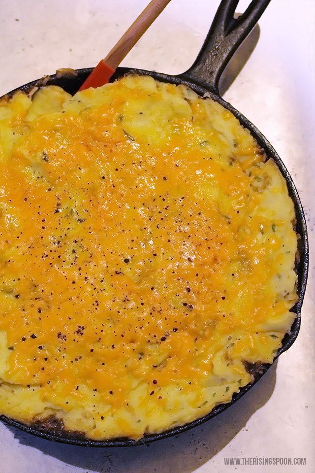 Cottage Pie in a Cast-Iron Skillet