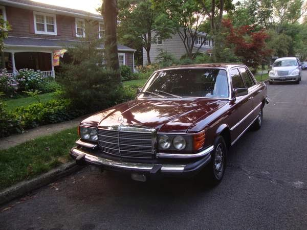 Daily Turismo: 5k: 570SEL: 1980 Mercedes-Benz W116 Chevy V8