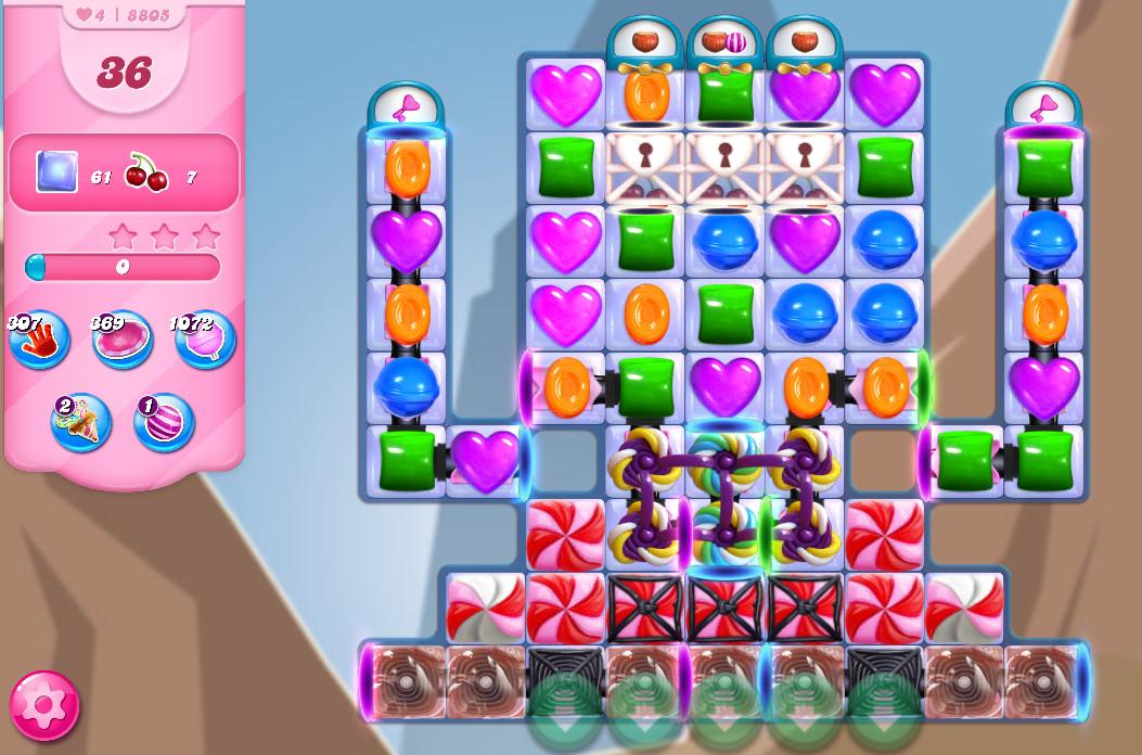 Candy Crush Saga level 8805