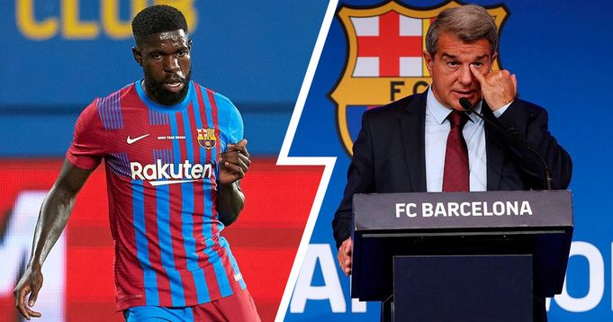 Revealed: Umtiti broke down into tears after a tense personal meeting with player