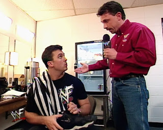 WWE / WWF - Backlash 1999 - Michael Cole interviews Shane McMahon