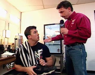 WWE / WWF - Backlash 1999 - Michael Cole interviews Shane McMahon