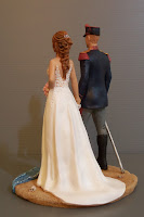 statuine per torte divise storiche rievocazione storica matrimonio a tema storico orme magiche