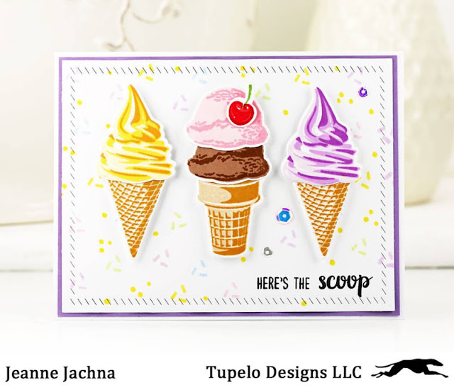 Sunny Studio Stamps: Sunny Saturday Customer Card Share by Jeanne Jachna