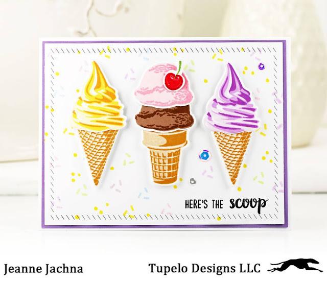 Sunny Studio Stamps: Sunny Saturday Customer Card Share by Jeanne Jachna