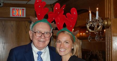 Warren Buffett en Navidad