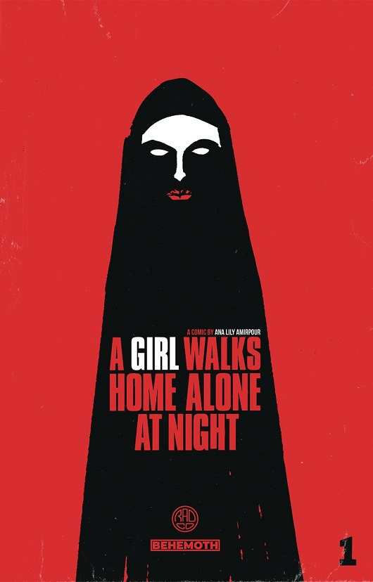 Cover of A Girl Walks Home Alone at Night Tp