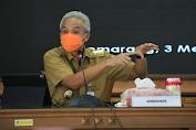 Jelang Lebaran, Ganjar: Bupati/Wali Kota Harus Waspadai Penularan Covid-19