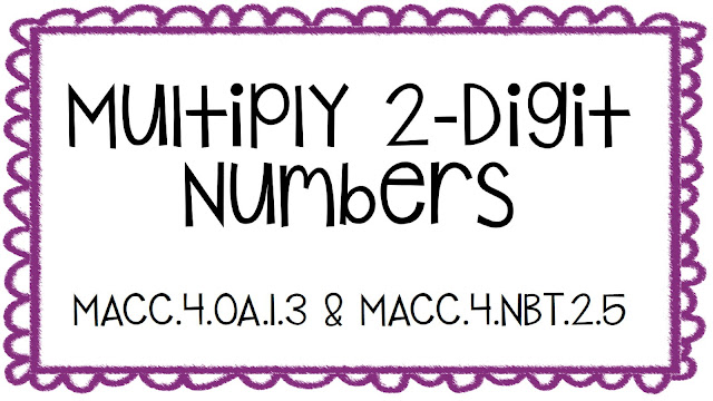 Want to grab this multiplication freebie? Click the picture to check it out!