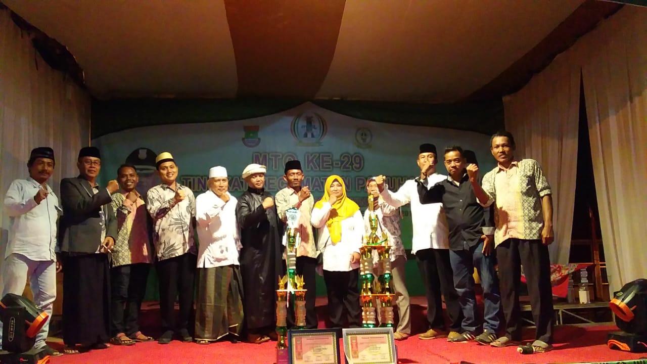 Kelurahan Pakuhaji Raih Juara Umum MTQ Ke 29 Tingkat Kecamatan