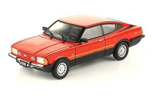 Ford Taunus GT SP5 1983 1:43, autos inolvidables argentinos 80 90