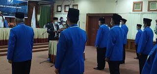 SAH Rusli Adam Pimpin APRI Pengwil Provinsi Jambi Masa Bakti 2021-2025 Dan Dikukuhkan Oleh Kakanwil Kemenag Provinsi Jambi.
