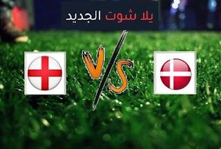 نتيجة مباراة انجلترا والدنمارك اليوم الاربعاء بتاريخ 14-10-2020 دوري الأمم الأوروبية
