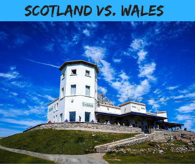 How Life Has Changed: Scotland Vs. Wales