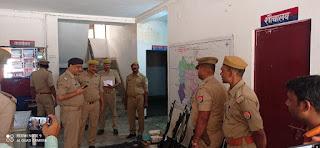 एसपी ग्रामीण ने थाने का किया वार्षिक निरीक्षण | #NayaSaberaNetwork