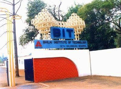 Bhilai Institute of Technology (BIT),  Durg updates by www.EChhattisgarh.in