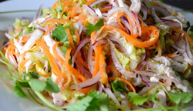 Fresh And Easy Vietnamese Noodle Salad #vegetarian #sidedish