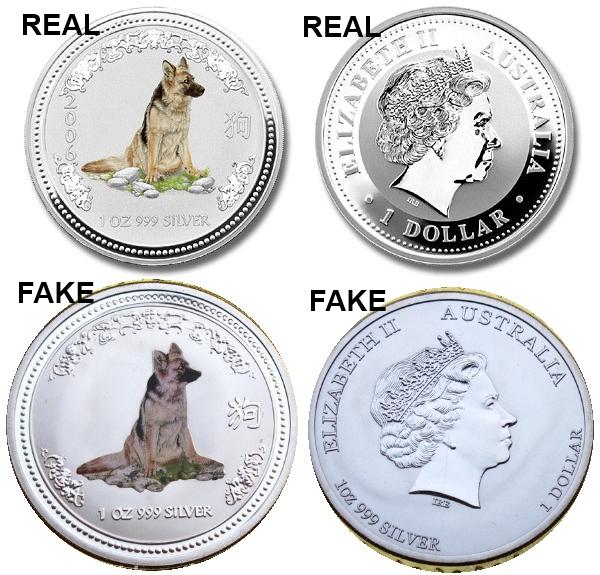 Fake Counterfeit Silver Lunar Coins On Ebay Beware