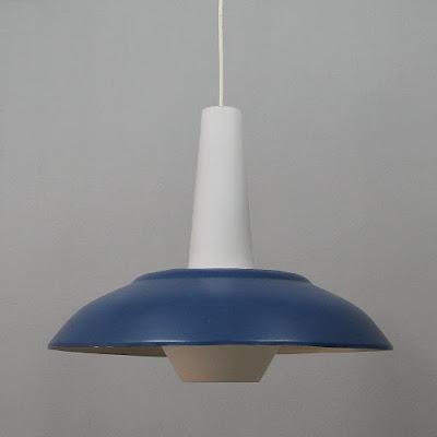 Lámpara de techo vintage de los años 50