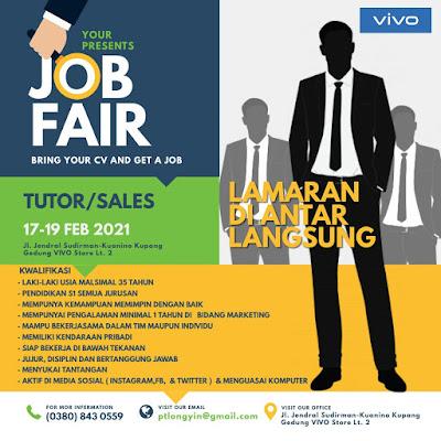 Lowongan Kerja di VIVO Kupang Sebagai Tutor/Sales