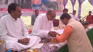 मंत्री रामकिशोर (नानो) कावरे ने कबीर सतसंग वाणी मेले में की शिरकत